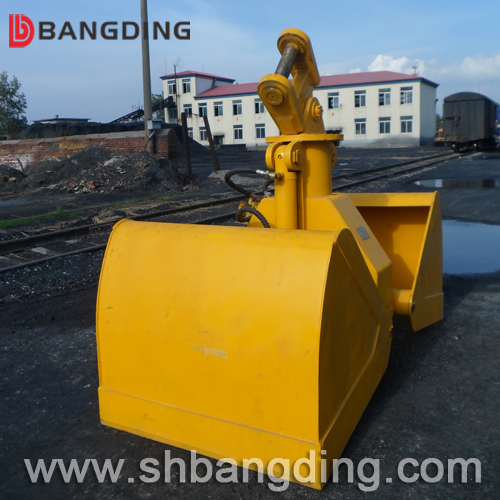 Clamshell grab for excavator